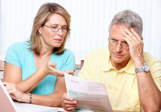 Senior-Couple - unhappy