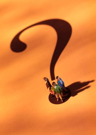 Figurines - Question mark